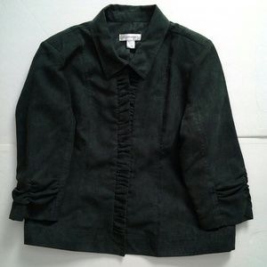 Dark Green Jacket size Large